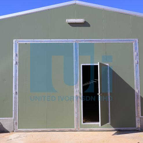 High Density Insulated Door